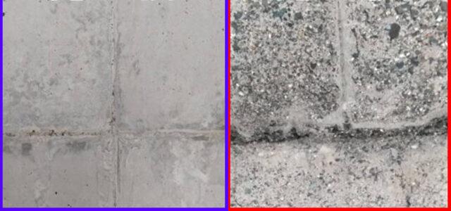 表面処理(動画)(写真):ウォータージェット工法施工例:山梨県